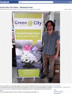 Rollup Display für Greencity München